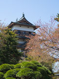 Takashima Castle in Suwa, Nagano, Japan Royalty Free Stock Photo