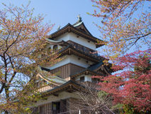 Takashima Castle in Suwa, Nagano, Japan Stock Photography