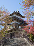 Takashima Castle in Suwa, Nagano, Japan Royalty Free Stock Photography