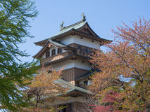 Takashima Castle in Suwa, Nagano, Japan Royalty Free Stock Images