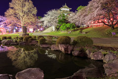 Takashima Castle Royalty Free Stock Image