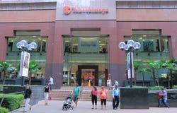 Takashimaya Shopping Orchard road Singapore. Takashimaya department store in Orchard Road in Singapore Royalty Free Stock Photography