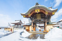 Takayama Betsuin Shorenji Temple in Japan. Stock Photos