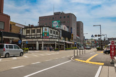 Takayama city Royalty Free Stock Photography