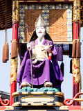Takayama festival float carving Stock Photography