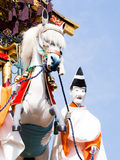 Takayama festival float carving Royalty Free Stock Photography
