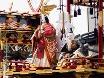 Takayama festival float carvings Stock Photo