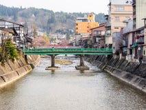 Takayama gammal stad, Japan 2 arkivfoto