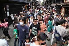 Takayama, Japão Imagem de Stock Royalty Free