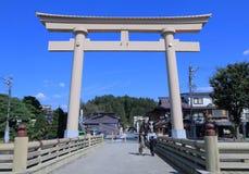 Gate Takayama Japan Stock Image