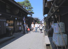 Historical house Takayama Japan Royalty Free Stock Photos
