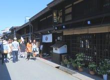 Takayama Japanese old house Royalty Free Stock Photography