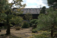Takayama Jinya, Takayama, Japan Arkivbild