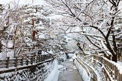 Takayama miasteczko Zdjęcia Royalty Free