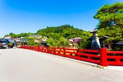 Takayama Naka-Bashi Bridge Old Town Entrance H Royalty Free Stock Image