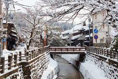 Takayama-Stadt Lizenzfreies Stockbild