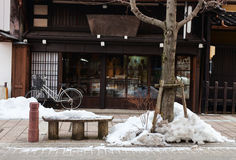 Takayama town details Stock Photography