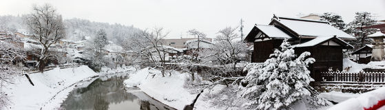 Takayama town Royalty Free Stock Photography