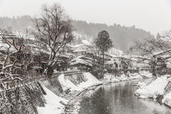 Takayama Winter Royalty Free Stock Photos