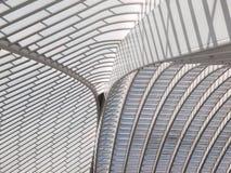 Takdetalj av modern arkitektur Arkivfoton