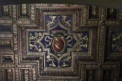 Takdetalj i basilikan av St Mary av altaret av himmel Royaltyfri Fotografi