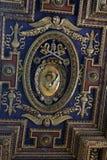 Takdetalj i basilikan av St Mary av altaret av himmel Royaltyfria Bilder