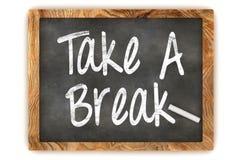 Free Take A Break Chalkboard Royalty Free Stock Photo - 51148965