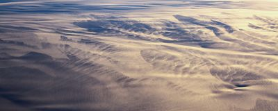 13Take an aerial view of the ice and sunrise over the bering strait.(1) stock image