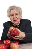 Take an apple! Stock Images