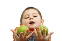 Take this apples Royalty Free Stock Photography