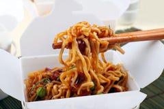 Free Take Away BBQ Noodles Stock Photos - 14327523