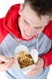 Take away chinese food Stock Photos