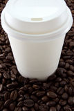 Take-away coffee Stock Images