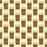 Take away coffee cup background Stock Photography