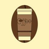 Take away coffee cup Royalty Free Stock Photo