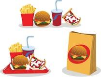 Take away food Royalty Free Stock Image
