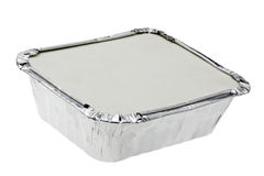 Take Away Food Container Stock Image