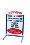 Take Away Food Sign Stock Images