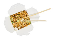 Take away noodles stock photography