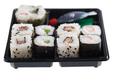 Take away sushi Royalty Free Stock Photo