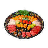 Take away sushi express on plastic tray Stock Photography