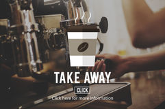 Take Away To Go Coffee Caffeine Concept Stock Images