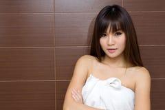 Take a bath Royalty Free Stock Image