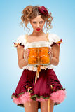 Take beers. Stock Images