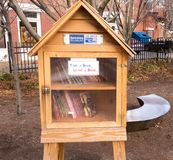 Little free library Royalty Free Stock Photos