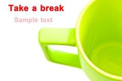 Take a break stock photography