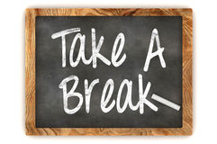 Take a Break Chalkboard Royalty Free Stock Photo