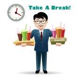 Take a Break Royalty Free Stock Image