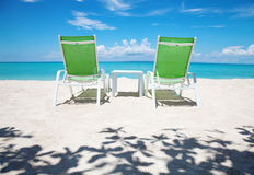 Take a break on paradise beach Royalty Free Stock Photo