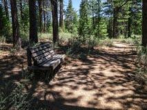 Take a break on the trail Royalty Free Stock Photos